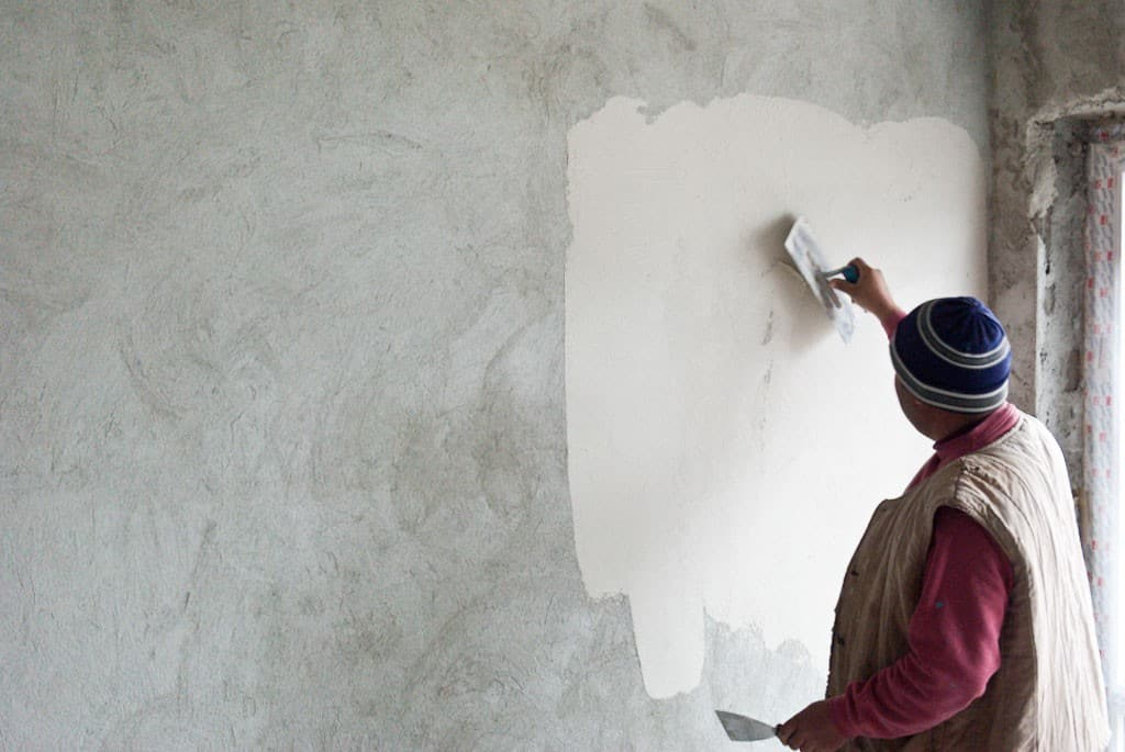 How to plaster a brick wall 2