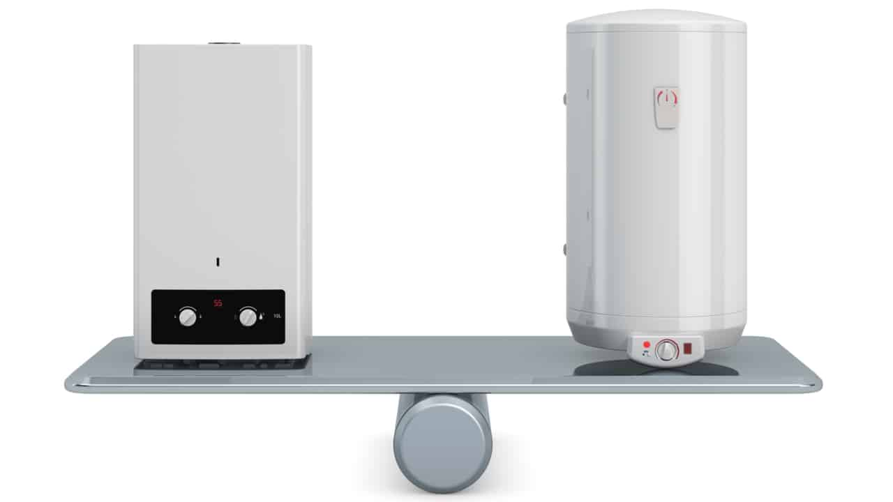 Water heater and boiler